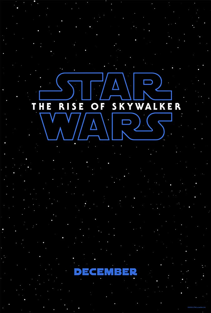 Star Wars - The Rise of Skywalker Movie Poster