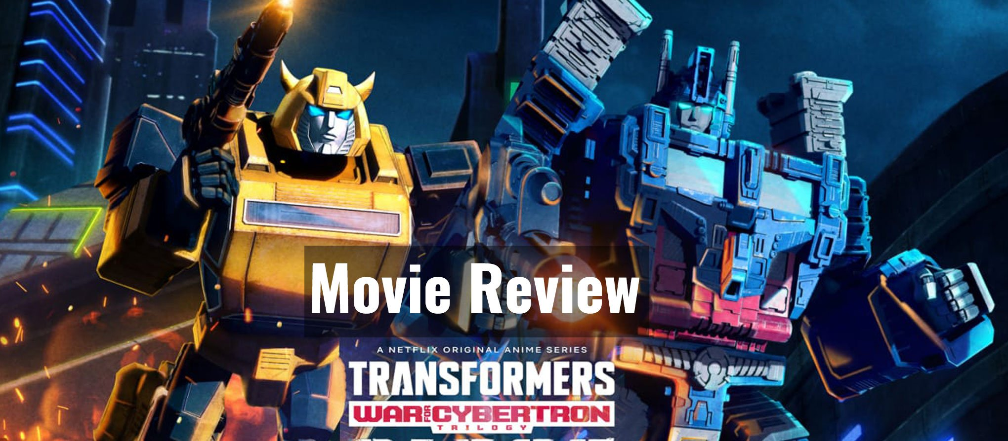 Transformers war for cybertron review